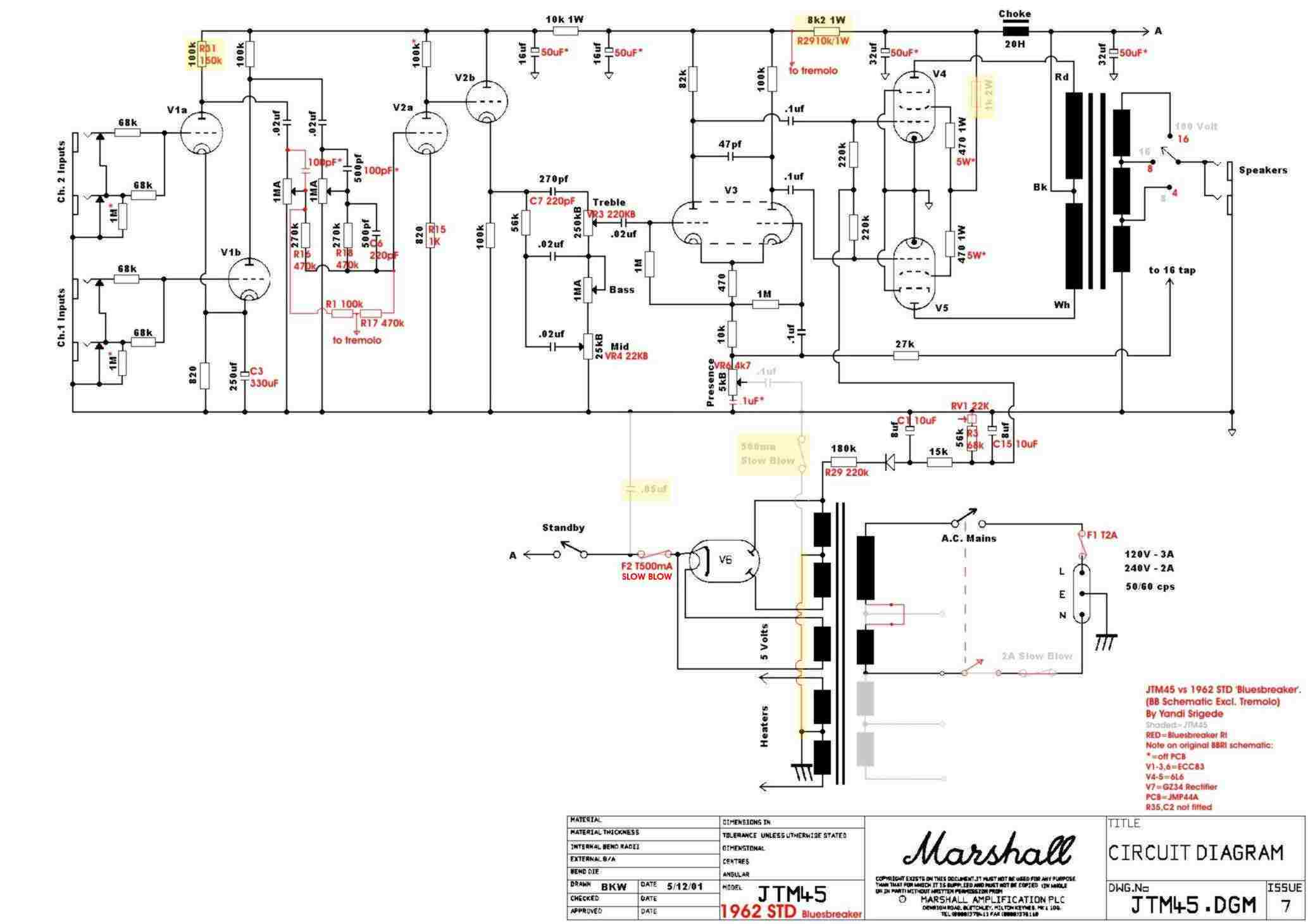 raw sewage on marshall jcm 2000, marshall jcm 900, marshall 2204 schematic,